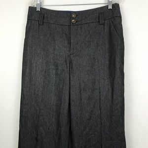 Anthropologie Elevenses wide leg trousers  10Tall